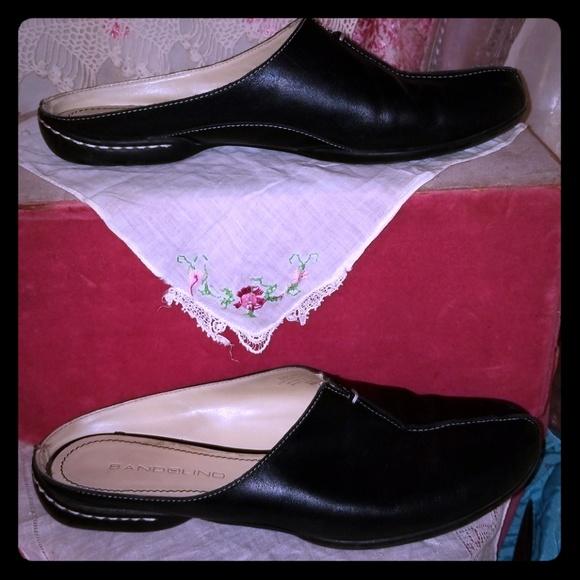 d951c0b0dab27 Bandolino DBONFIRE leather 8 slip on shoes mules